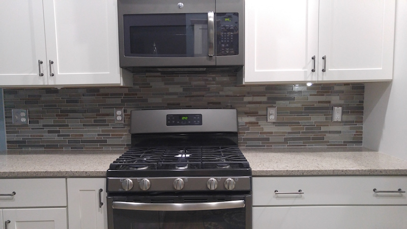 kitchen backsplash glass mosaic hq discount flooring cheap backsplash diy pinterest