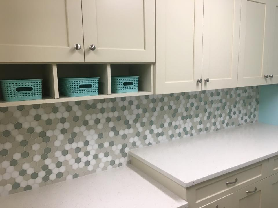 Tile Backsplash Laundry Room Hq Discount Flooring