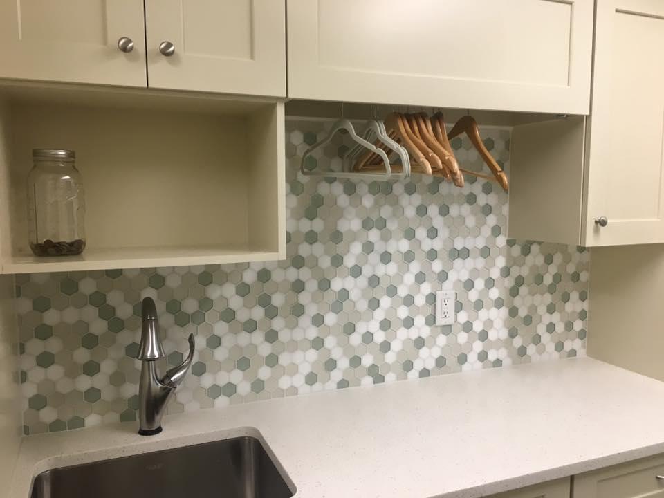 Tile Backsplash Laundry Room Hq Discount Flooring