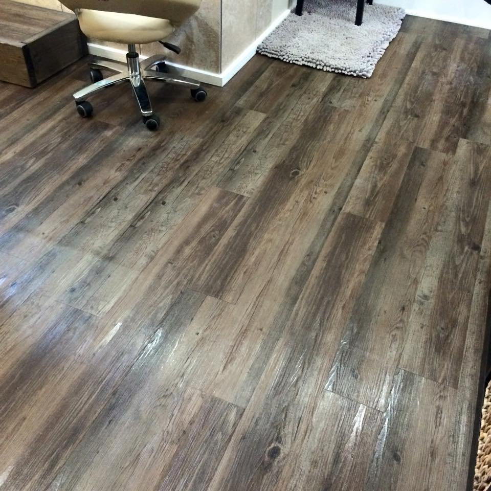 Salon Floor Lvt Hq Discount Flooring
