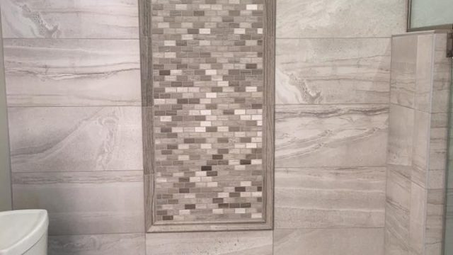 tile by bathroom gallery design
