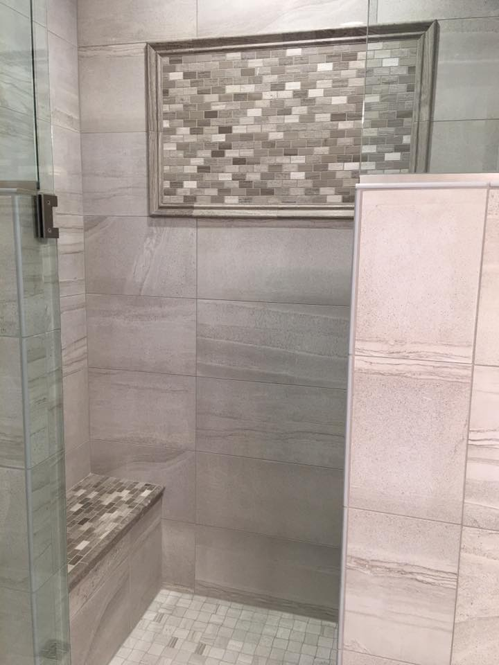Charmant Custom Tiled Shower Southwest Michigan